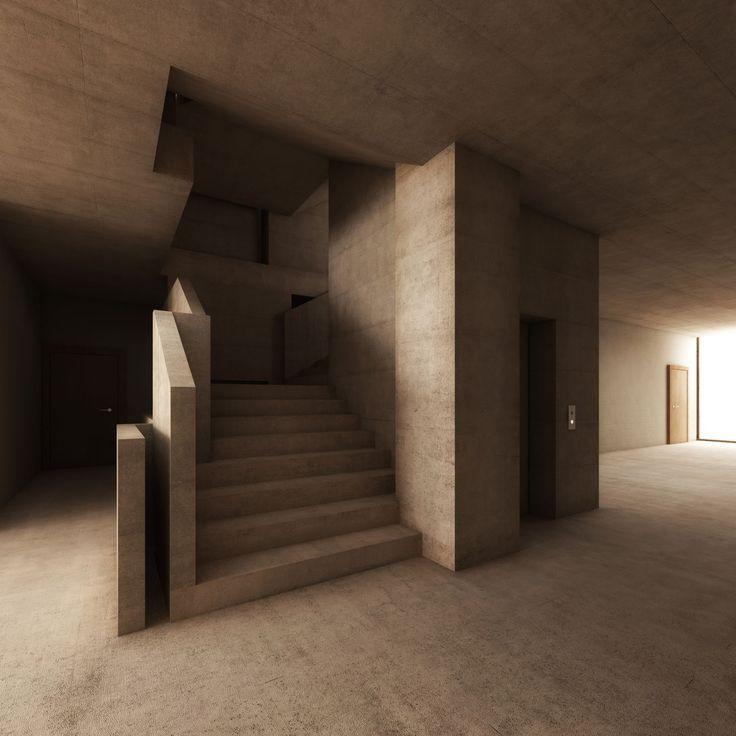 stair Schoolhouse - Port - 2013 - Raphael Zuber details - interieur design neuen super google zentrale