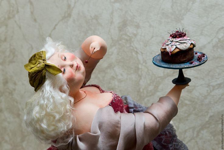 #ArtDolls Сладкоежка - комбинированный, авторская ручная работа, авторская кукла, коллекционная кукла