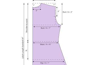 Jubah / Abaya Pattern