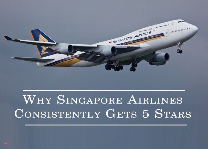 It might interest you to know that Singapore Airlines is a consistent receiver of five stars. The reasons are quite obvious: Quality, Comfort and Style!  #travel #Singapore