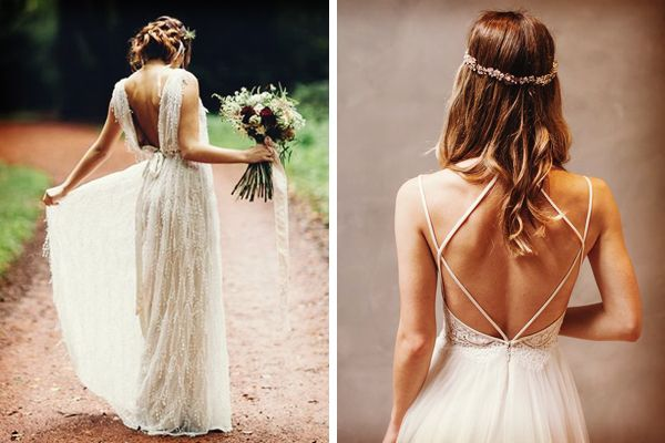 Consejos para un vestido de novia sin espalda #bodas #ElBlogdeMaríaJosé #VestidoNovia #VestidoNoviaSinEspalda #Wedding #WeddingDress