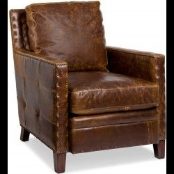 Lovely Elkhorn Leather Chair By Randall Allan Is A Part Of Randall Allan Furniture  Collection. Available At Knight Furniture Showrooms In Florence, SC.