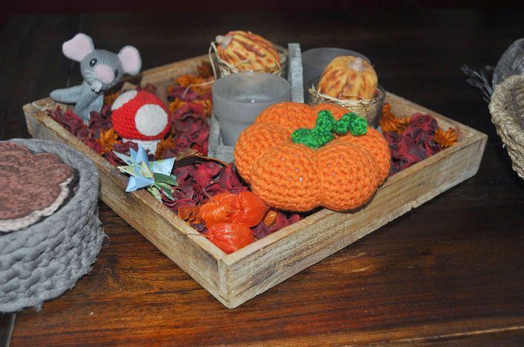deborah haakt pompoentje crochet pumpkin