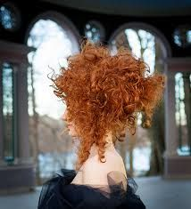 big red hair fashion - Google Search