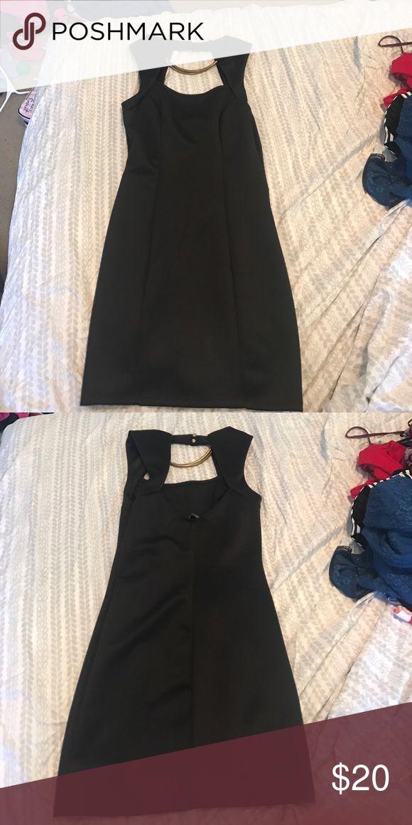 Black dress Little black dress. Gold neck. Short. Perfect for going out Dresses Mini