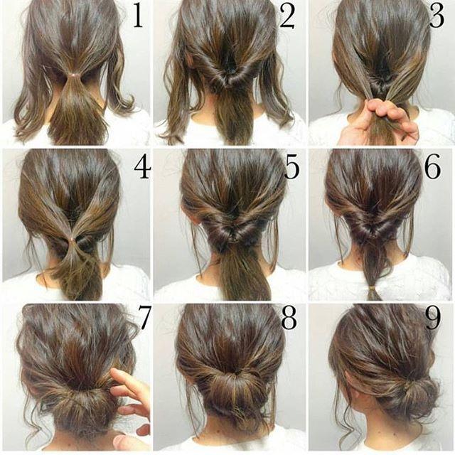 Quick morning hair. #hair #hairstyle