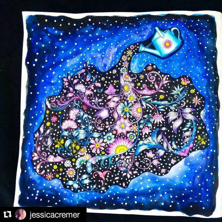 """Muito lindo!!  #Repost @jessicacremer  #⃣ Use #jardimcolorido para divulgar as suas artes…"""