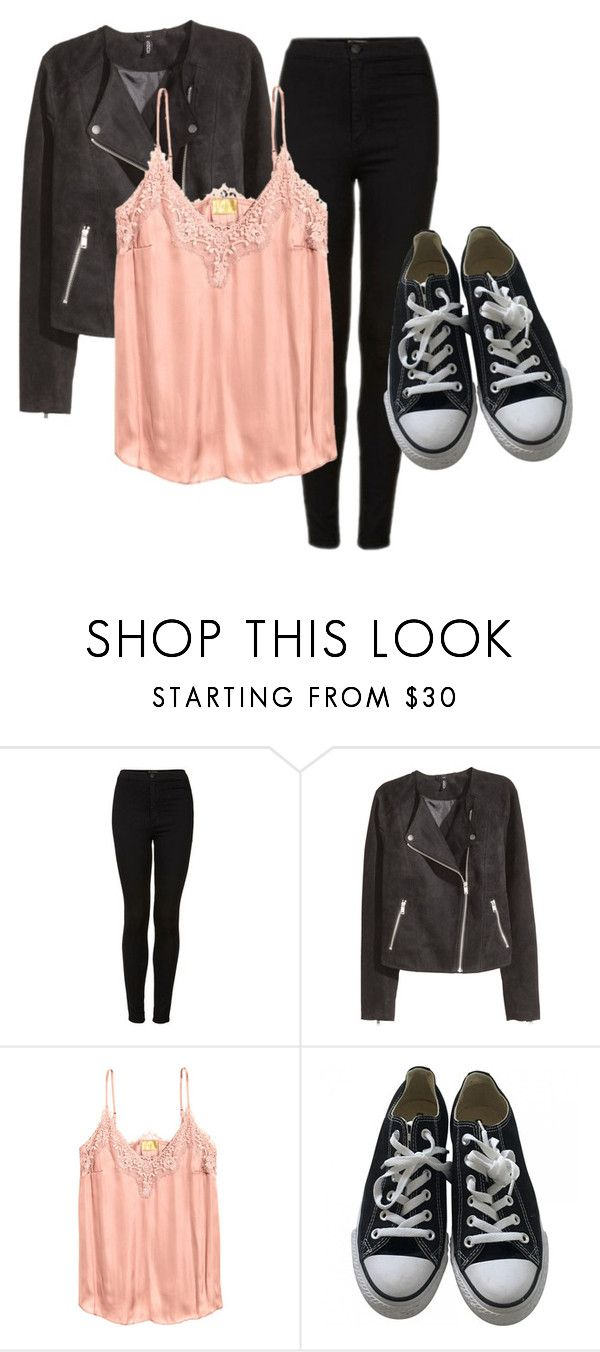 """""""7 degrees"""" by valentino-capsule on Polyvore featuring Topshop, H&M and Converse"""