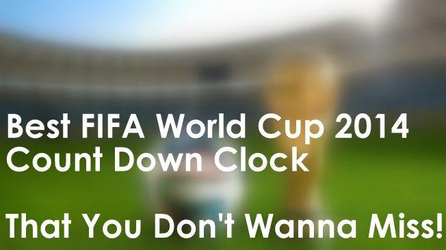 FIFA World Cup 2014 Countdown Clock Widget, FIFA World Cup 2014 Countdown APK For Android Download, FIFA World Cup 2014 Countdown Timer
