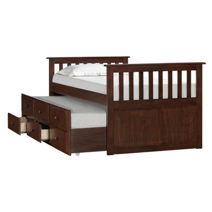 Simmons Mission Hills Twin Captains Bed - UDF345