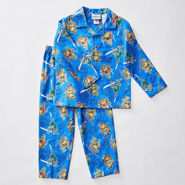 Teenage Mutant Ninja Turtles Flannelette Pyjama Set