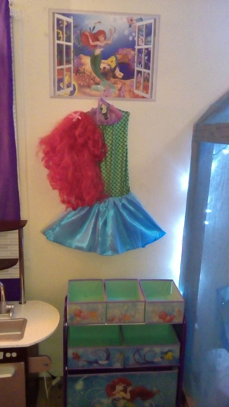 The 25 best little mermaid toys ideas on pinterest little small 3d window little mermaid wall decal purchased through ebay 999 little mermaid costume purchased geotapseo Images