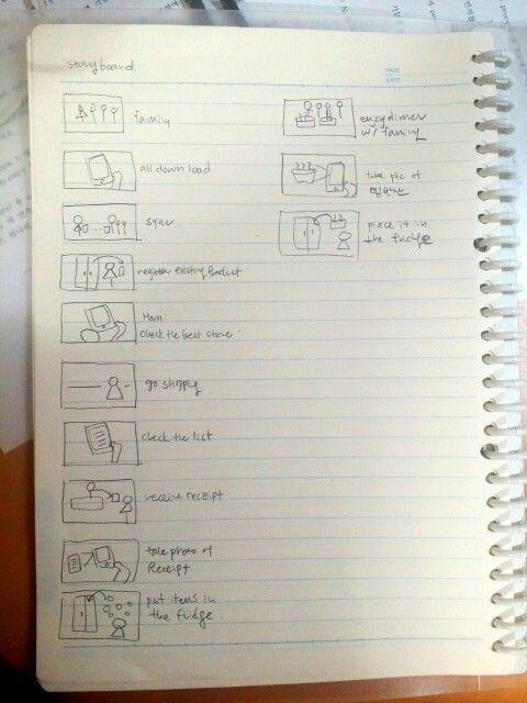 Storyboard part1 (step 1~3)