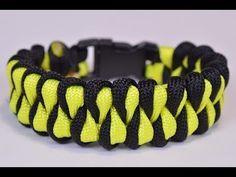 "Make the ""Growling Dog"" Paracord Survival Bracelet - DIY - BoredParacord - YouTube"