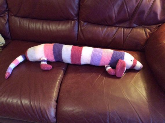 Sausage Dog draught excluder by Janellicraftz on Etsy