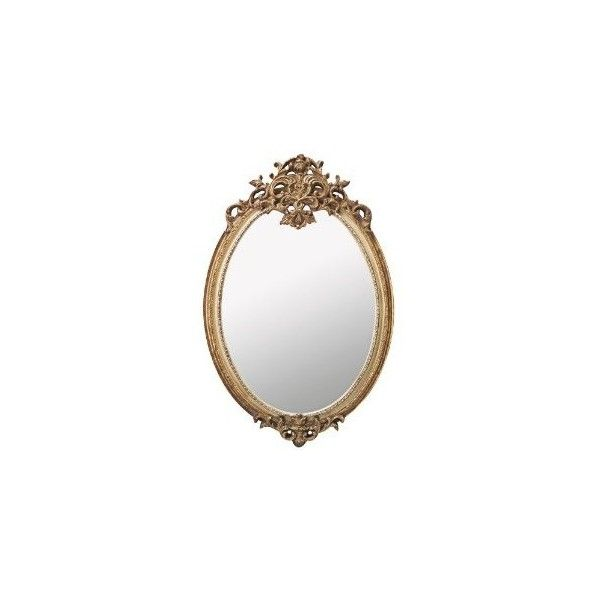 "Amazon.com: Antique Gold with Ivory Victorian 41 1/2"" High Wall... (£265) ❤ liked on Polyvore featuring home, home decor, mirrors, fillers, backgrounds, frames, borders, outline, picture frame and cream wall mirror"