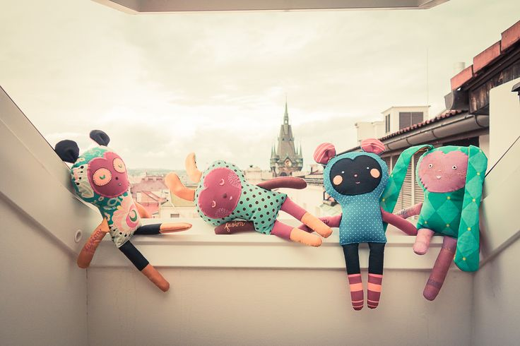 fubbies - toys in fusion hotel prague. Made by Břichopas toys.