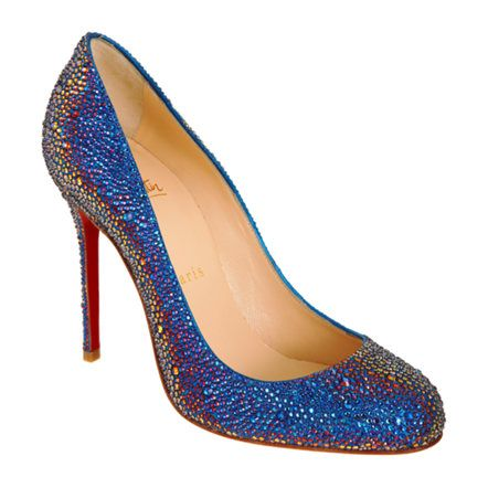 Mermaid Shoes Christian Louboutin Fifi Strass Lust