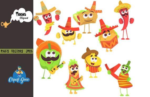 Cinco De Mayo Fiesta Clip Art Sombrero Clipart Taco Clipart Maracas Clipart Mexican Party Clip Art Mexican Clipart Ci Clip Art Image Paper Cinco De Mayo