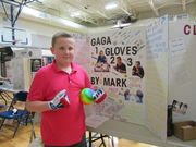 On May 14 the fifth-graders at Central Elementary School presented their ideas at a school Invention Convention.
