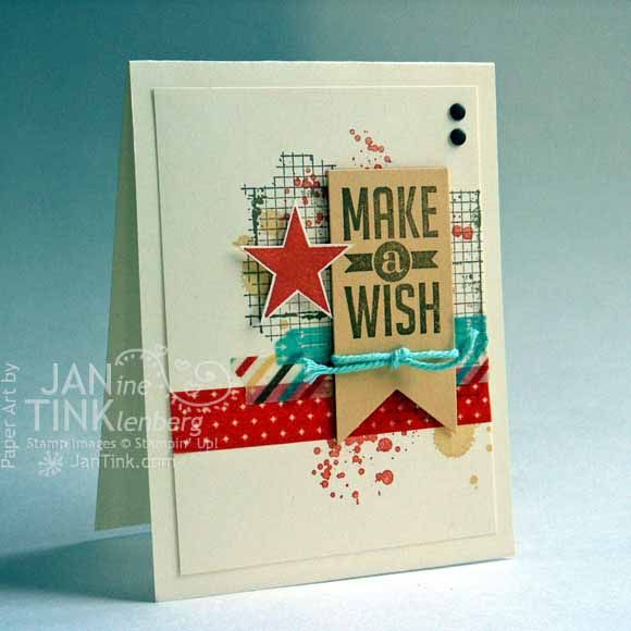Perfect Pennants Birthday Card by JanTInk - Cards and Paper Crafts at Splitcoaststampers