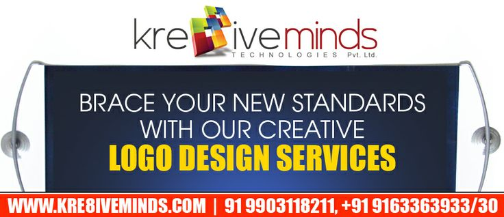 Brace your new standards with our creative logo design services! http://www.kre8iveminds.com/