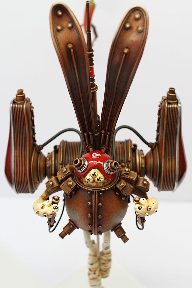 Playful Steampunk Sculptures-7b