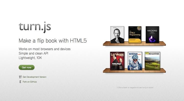 Create an HTML5 & CSS3 Flipbook with Turn.js [...]