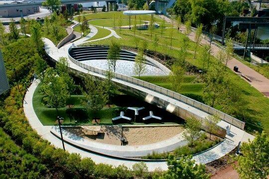 Downtown Nashville by landarchs.com