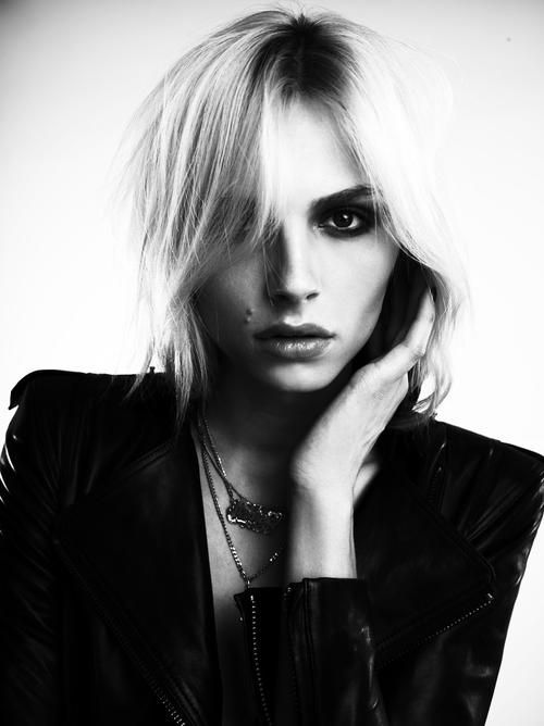 19-year- old Serbian Australian model Andrej Pejic has emerged as a poster boy for fashion androgyn