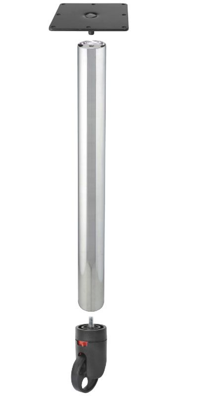 Rolling Table Legs We And Bases With Casters For Use In Office Library Kitchen Bar Restaurant Lounge