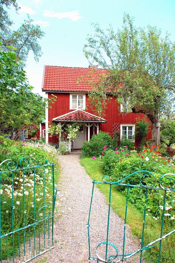 "BULLERBYN - or Sevedstorp, Småland, Sweden. ""Alla vi barn i Bullerbyn"", a…"