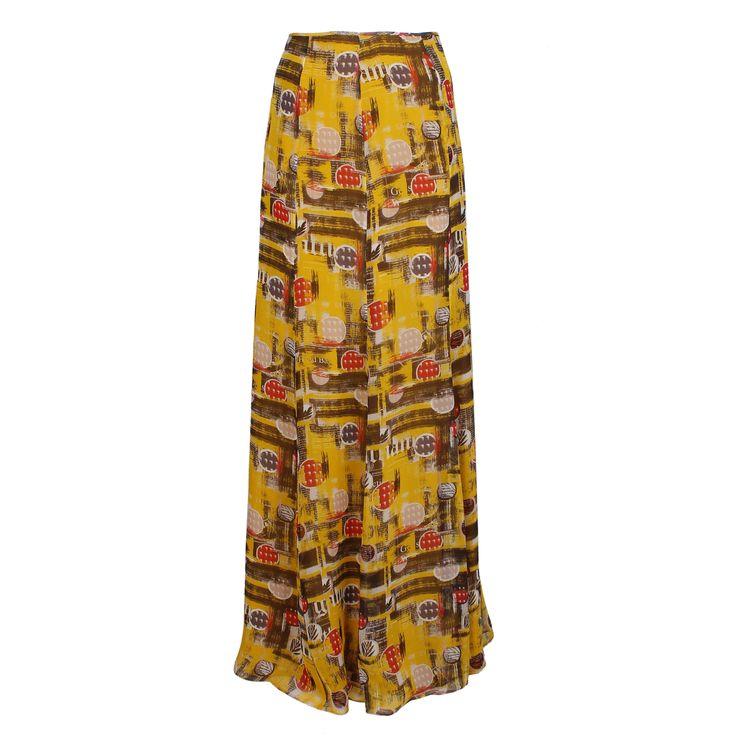 #galliano #johngalliano #marinamall #greenbird #couture #abudhabi #abudhabistyle #abudhabifashion #abudhabistyle #dubai #dubaifashion #dubaistyle #womenswear #fall2013 #winter2014 #fw2014 #prefall #skirt #longskirt #mixedprint #mixedprintskirt