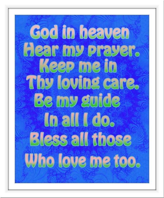 A Prayer Before Sleep for Children | Bedtime Prayers for ...