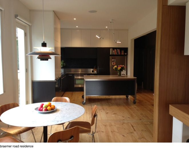 Dimitty Andersen Architects, for over kitchen bench