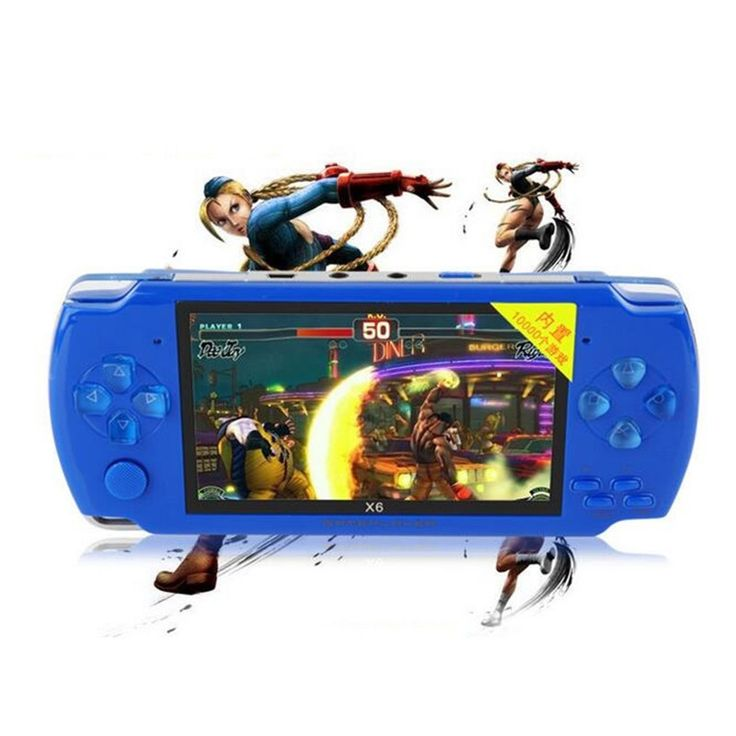 Portable Handheld Game Console 8gb 4.3 inch mp4 player Video Game Console Free 1000 Games Ebook Camera Recording Gaming Consoles