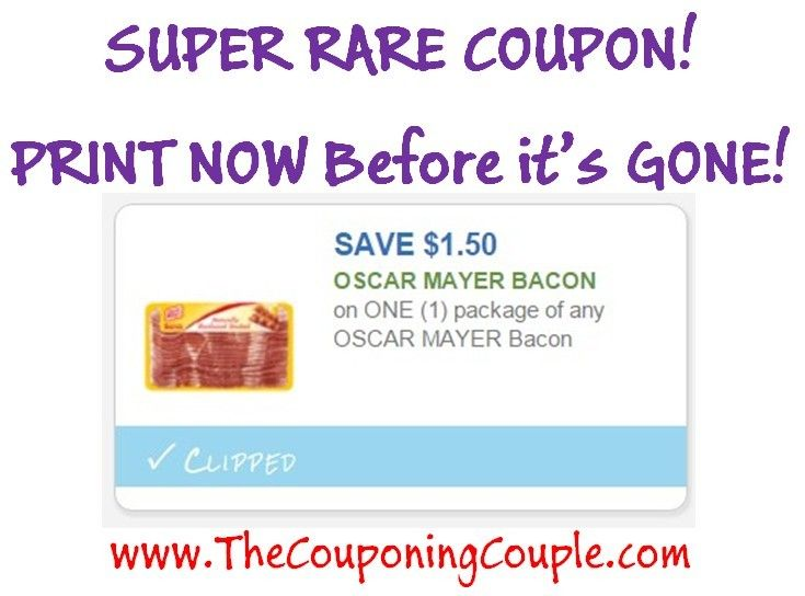 ****PRINT NOW ~ SUPER RARE $1.50/1 Oscar Mayer Bacon**** This coupon won't last long so PRINT it NOW! Click the link below to get all of the details including DIRECT LINKS to the coupon ► http://www.thecouponingcouple.com/super-rare-1-501-oscar-mayer-bacon-coupon-print-now/  #Coupons #Couponing #CouponCommunity  Visit us at http://www.thecouponingcouple.com for more great posts!