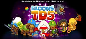FREE Bloons Tower Defense 5 iPhone and iPad Game Download on http://www.icravefreebies.com/