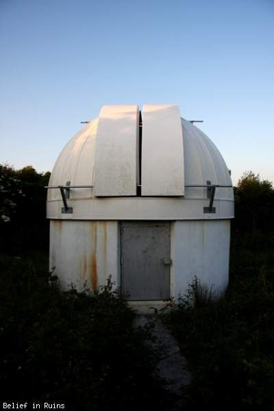 Abandoned observatory - Belief in Ruins, Truro, Cornwall