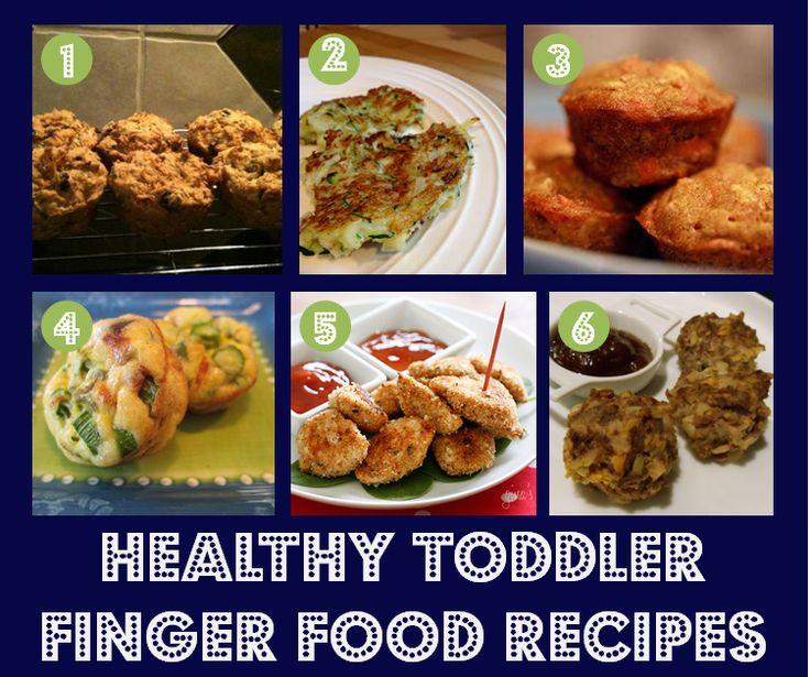 Healthy Toddler Finger Food Recipes