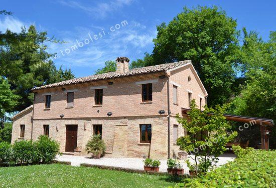 Castella villa nelle Marche - Tombolesi Immobiliare