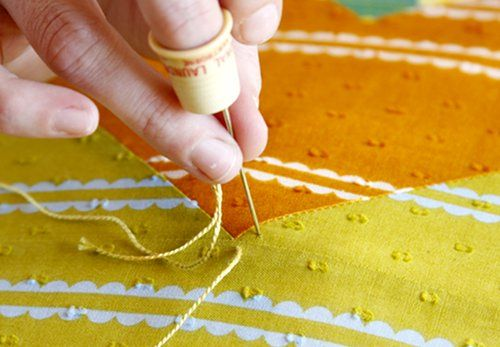Hand quilting tutorial (@Anna Totten Totten Totten maria horner)