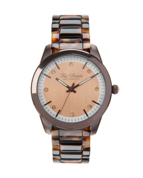Tortoise shell watch - Tortoise Shell | Jewelry & Watches | Ted Baker (to be fashionably on-time)