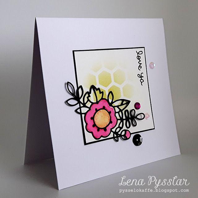 Lena pysslar