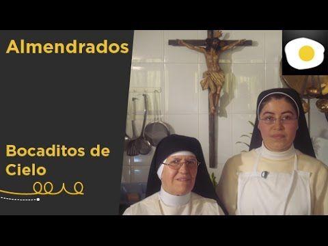 Almendrados (Receta) | Bocaditos de Cielo - YouTube...Almond flour & powder sugar & egg whte cookies. Piped shortbread look**
