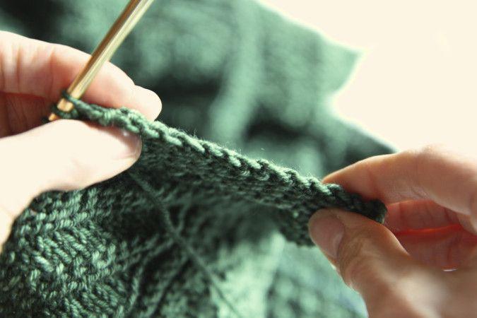 a favorite stretchy bind off - elizabeth zimmerman | italiandishknits