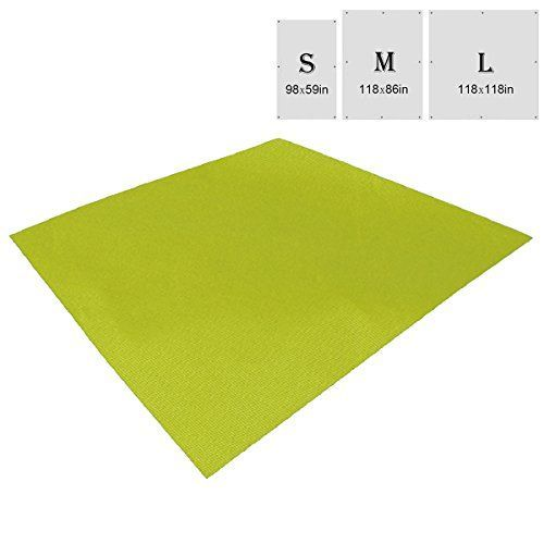 Triwonder Waterproof Hammock Rain Fly Tent Tarp Footprint Camping Shelter Ground Cloth Sunshade Mat for Outdoor Hiking Beach Picnic (Green, L - 118 x 118in). For product & price info go to:  https://all4hiking.com/products/triwonder-waterproof-hammock-rain-fly-tent-tarp-footprint-camping-shelter-ground-cloth-sunshade-mat-for-outdoor-hiking-beach-picnic-green-l-118-x-118in/
