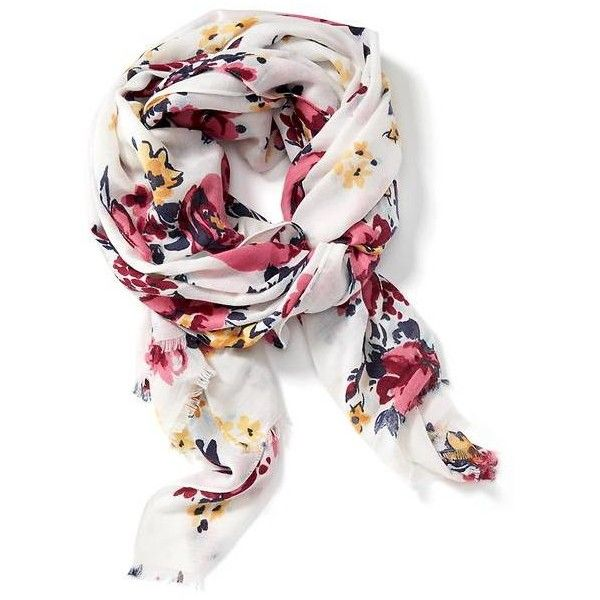 Old Navy Womens Printed Oversized Scarf ($17) ❤ liked on Polyvore featuring accessories, scarves, fringe scarves, lightweight scarves, print scarves, fringe shawl and old navy scarves