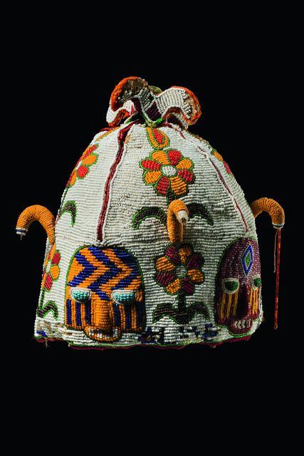 Yoruba Ade Oba (Orikogbofo) (King's Beaded Crown), Nigeria http://www.imodara.com/post/99003163119/nigeria-yoruba-ade-oba-kings-crown-orikogbofo