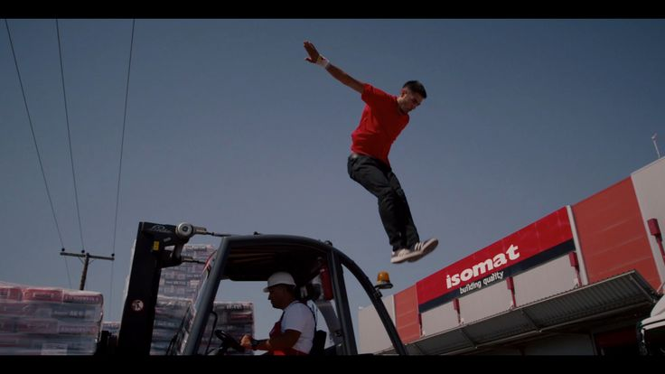 Turn the volume up and watch our new corporate video starring freerunning world champion Dimitris DK' Kyrsanidis! The film is directed by Christos Nikoleris, while the script and the editing was made by the advertising company Pare Tria.